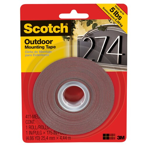 3M Medium Outdoor Mounting Tape