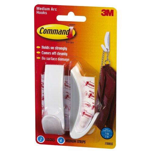 3M Command Medium Arc Hook