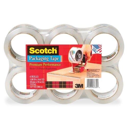 Scotch-Brite™ Heavy Duty Tape Refills, 6/Pack