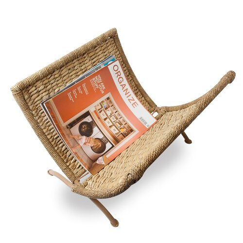 Seagrass Magazine Rack