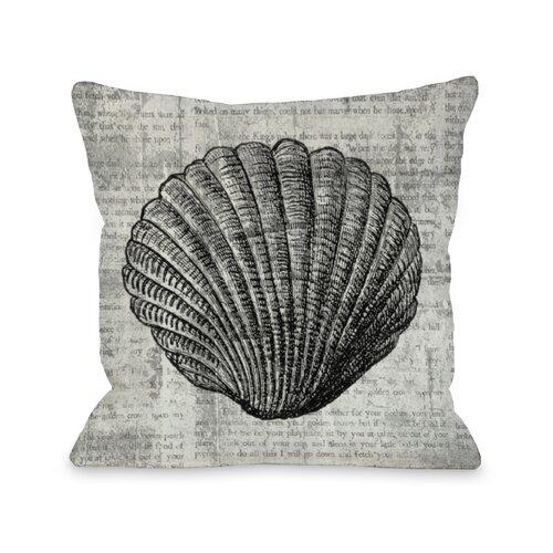 Vintage Seashell Pillow
