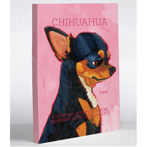 Doggy Decor Chihuahua 2 Graphic Art on Canvas