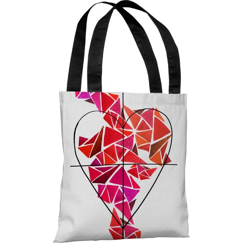Oliver Gal Piece of My Heart Tote Bag