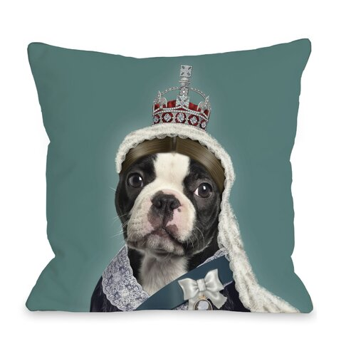 Pets Rock Queen Pillow