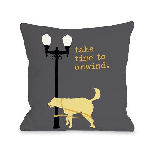 Doggy Décor Unwind Dog Pillow