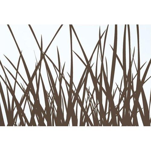 Inhabit Soak Grass Stretched Graphic Art on Canvas