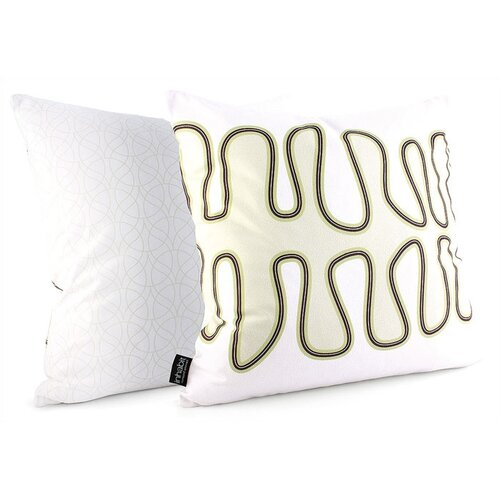 Inhabit Spa Kelp Suede Throw Pillow