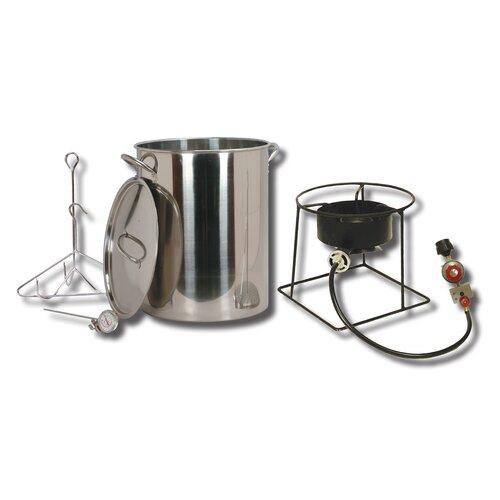 King Kooker Turkey Fryer Package with Stainless Steel Pot