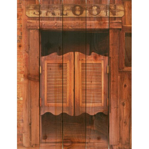 Gizaun Art Saloon Door Photographic Print