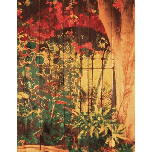 Gizaun Art Spanish Garden Photographic Print