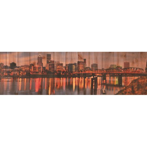 Gizaun Art City Skyline Photographic Print