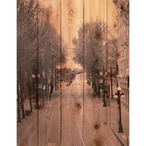 Gizaun Art City Street Photographic Print
