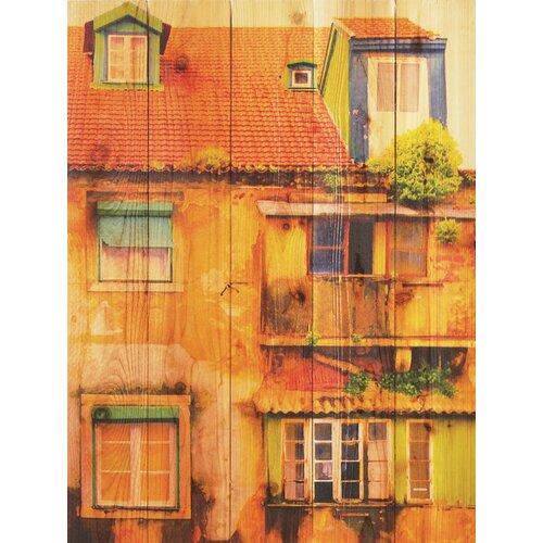 Gizaun Art Painted House Photographic Print