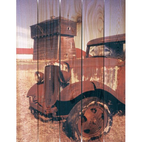 Gizaun Art Rust Bucket Photographic Print