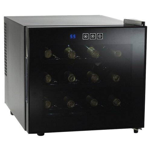 Silent 12 Bottle Single Zone Thermoelectric Wine Refrigerator