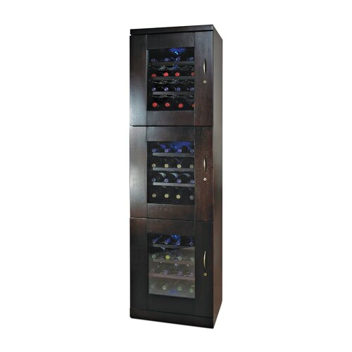 Trilogy 84 Bottle Triple Zone Thermoelectric Wine Refrigerator