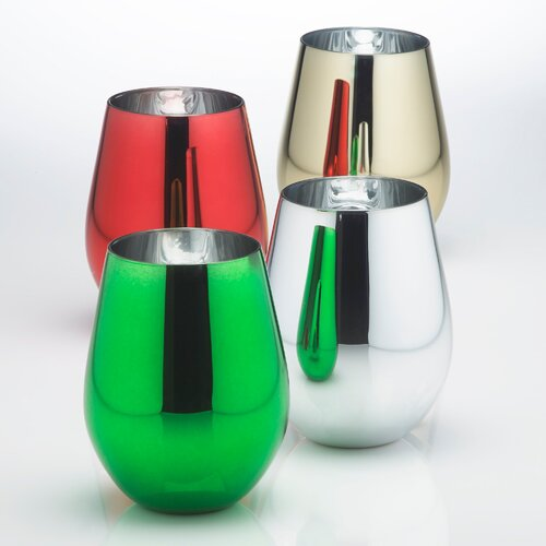 Metallic U Insulated Tumbler (Set of 4)