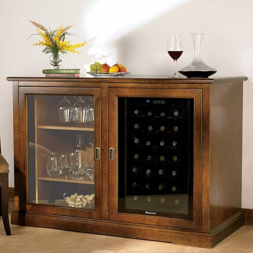 Siena 28 Bottle Single Zone Wine Refrigerator