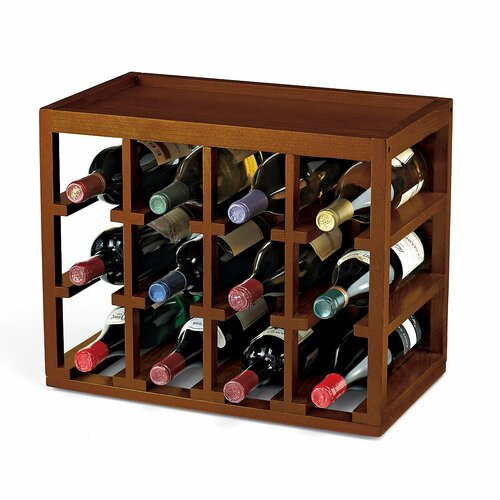 Stackable Cube 12 Bottle Wine Rack