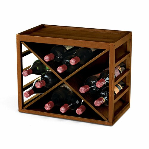 Wine Enthusiast 12 Bottle Wine Rack