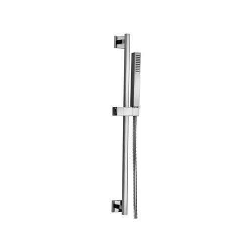 Jewel Faucets Jewel Shower Series Modern Adjustable Slide Rail and Hand Shower
