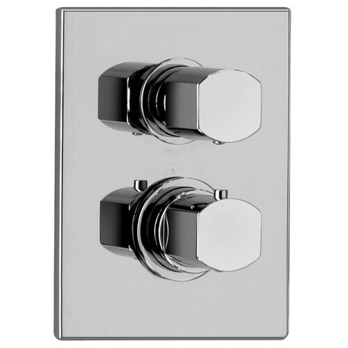 Jewel Faucets J15 Bath Series Thermostatic Valve Body with Diverter and Trim