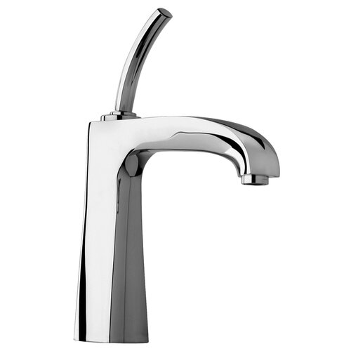 Jewel Faucets J11 Bath Series Single Joystick Handle Bathroom Faucet with Arched Spout