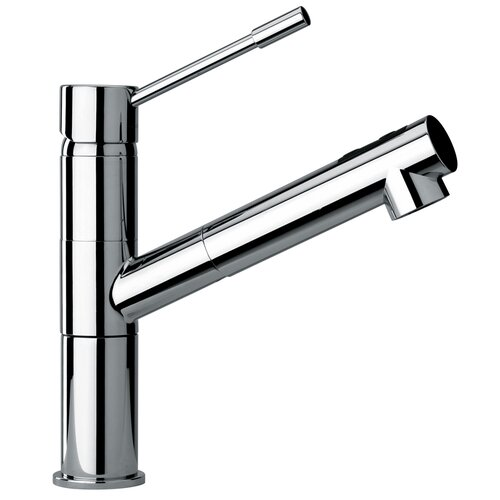 Jewel Faucets J25 Kitchen Series Modern Single Lever Handle One Hole Kitchen Faucet