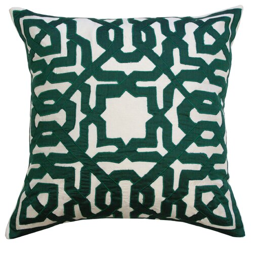 Divine Designs Geo Silk Pillow