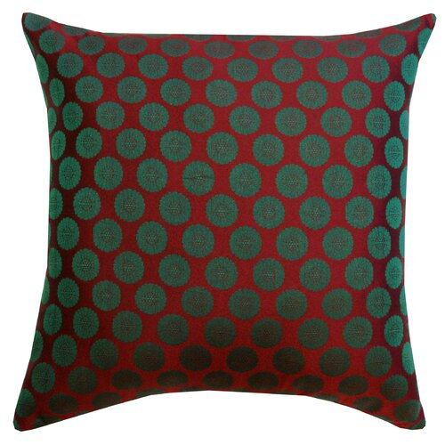 Charlie Brocade Cotton Pillow