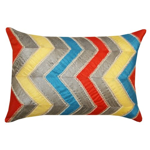 Divine Designs Retro Polyester Lumbar Pillow