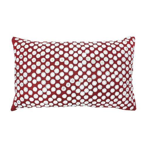 Divine Designs Palm Springs Mirrored Toss Pillow