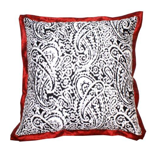 Lady Paisley Cotton Pillow