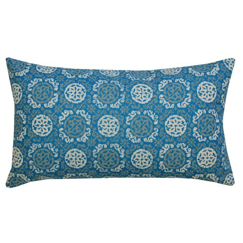 Batik Medallion Cotton Lumbar Pillow