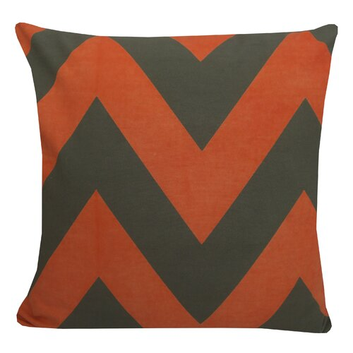 Eddy Chevron Poly Cotton Pillow