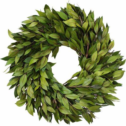 Urban Florals Spring / Everyday Green Myrtle Wreath