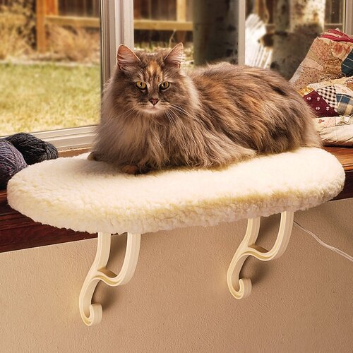 K&H Manufacturing Kitty Sill (Non-Heated) Cat Perch