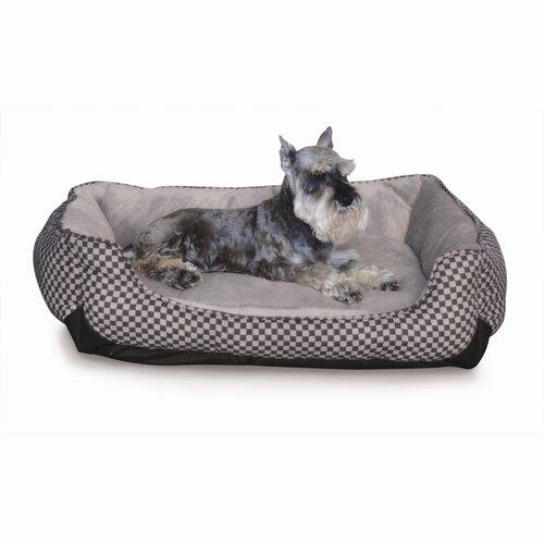 Self Warming Lounge Sleeper Bolster Dog Bed