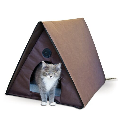 K&H Manufacturing Outdoor Heated Multiple Kitty House