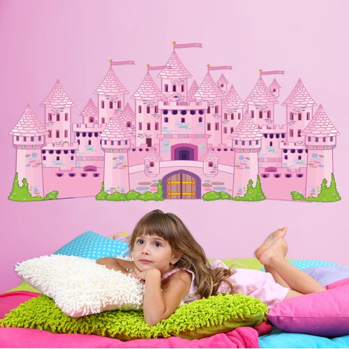 Really Big Princess Castle Wall Decal Set
