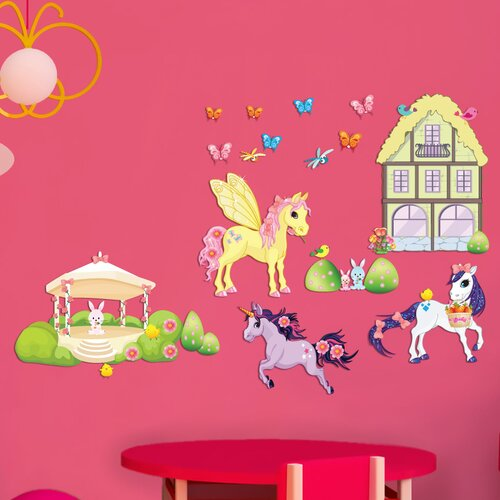 Mona Melisa Designs Peel and Play Pony Wall Decal