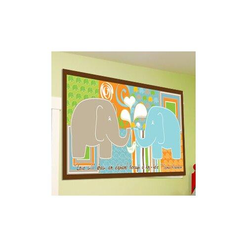 Elephant Boy Wall Mural