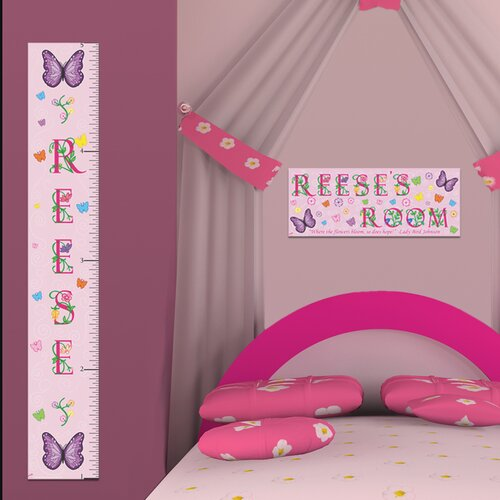 Butterfly Girl Growth Chart