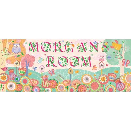 Mona Melisa Designs Flower Girl Name Wall Plaque