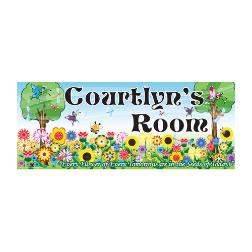 Flower Girl Name Wall Plaque