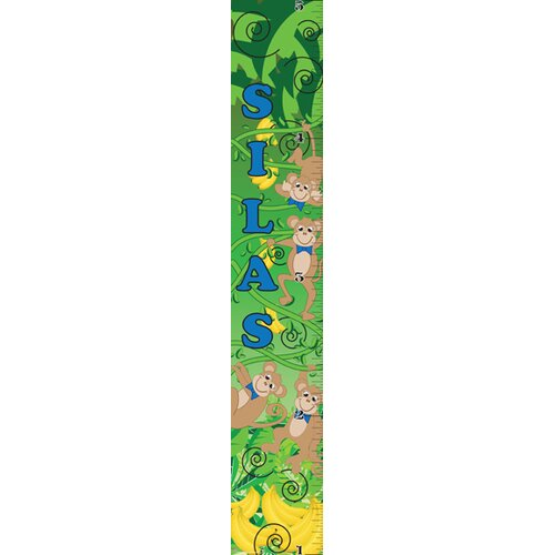 Mona Melisa Designs Monkey Boy Growth Chart