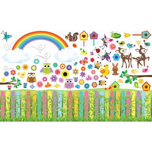 Mona Melisa Designs Flower Garden Wall Decal Set & Reviews