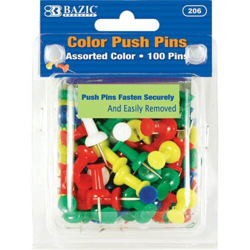 Bazic Push Pin Set