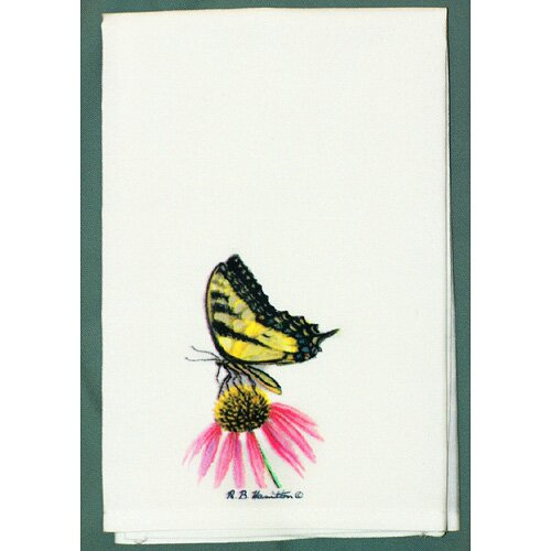 Butterfly Tiger Swallowtail Butterfly Hand Towel