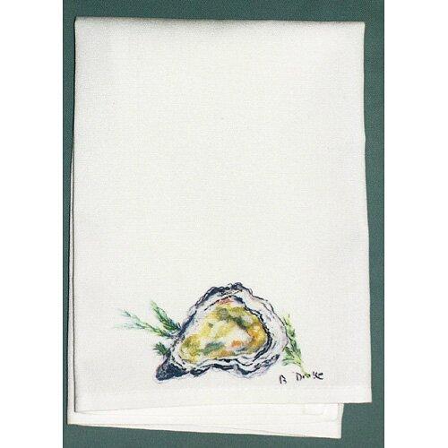 Betsy Drake Interiors Coastal Oyster Hand Towel